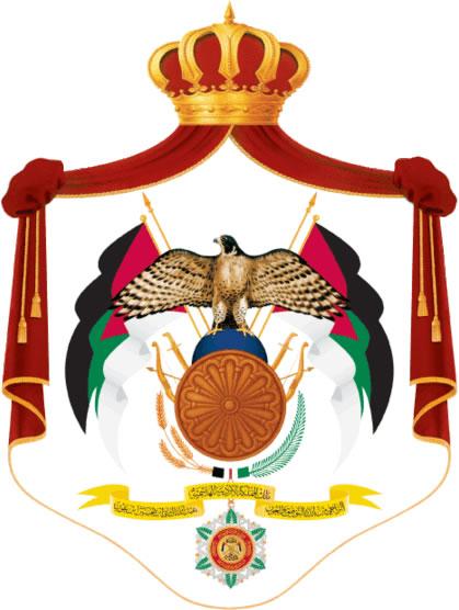 герб иордании